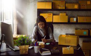 asesoria para negocios online - chica en casa