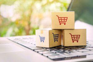 asesoría legal para comercio online en Valencia - cajitas de compra